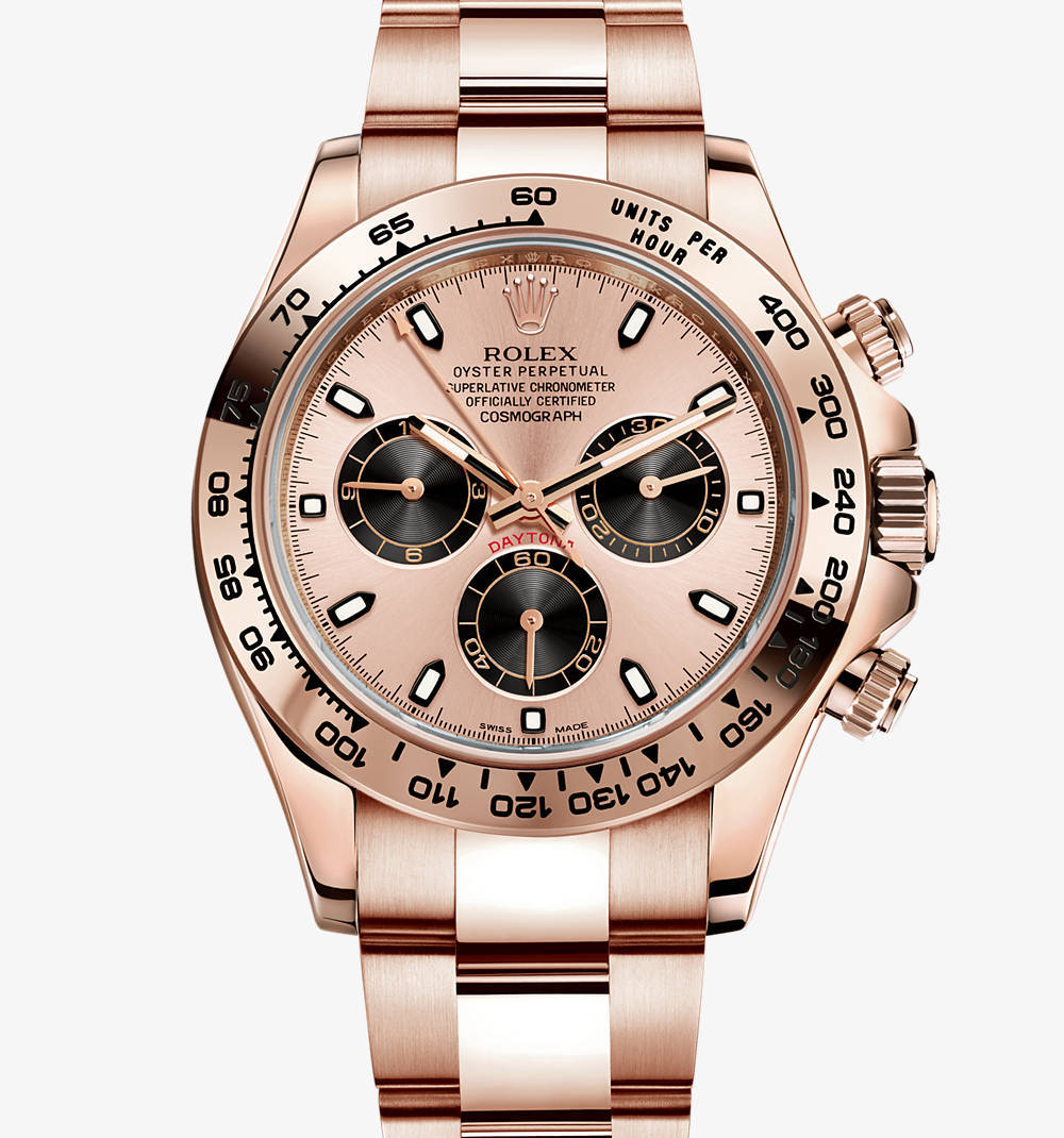 Replica Rolex Cosmograph Daytona Watch: 18 ct oro Everose - M116505-0001 [2aa7]